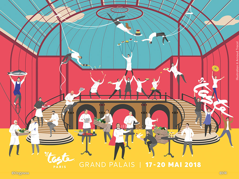 Taste of Paris 2018 du 17 au 20 mai