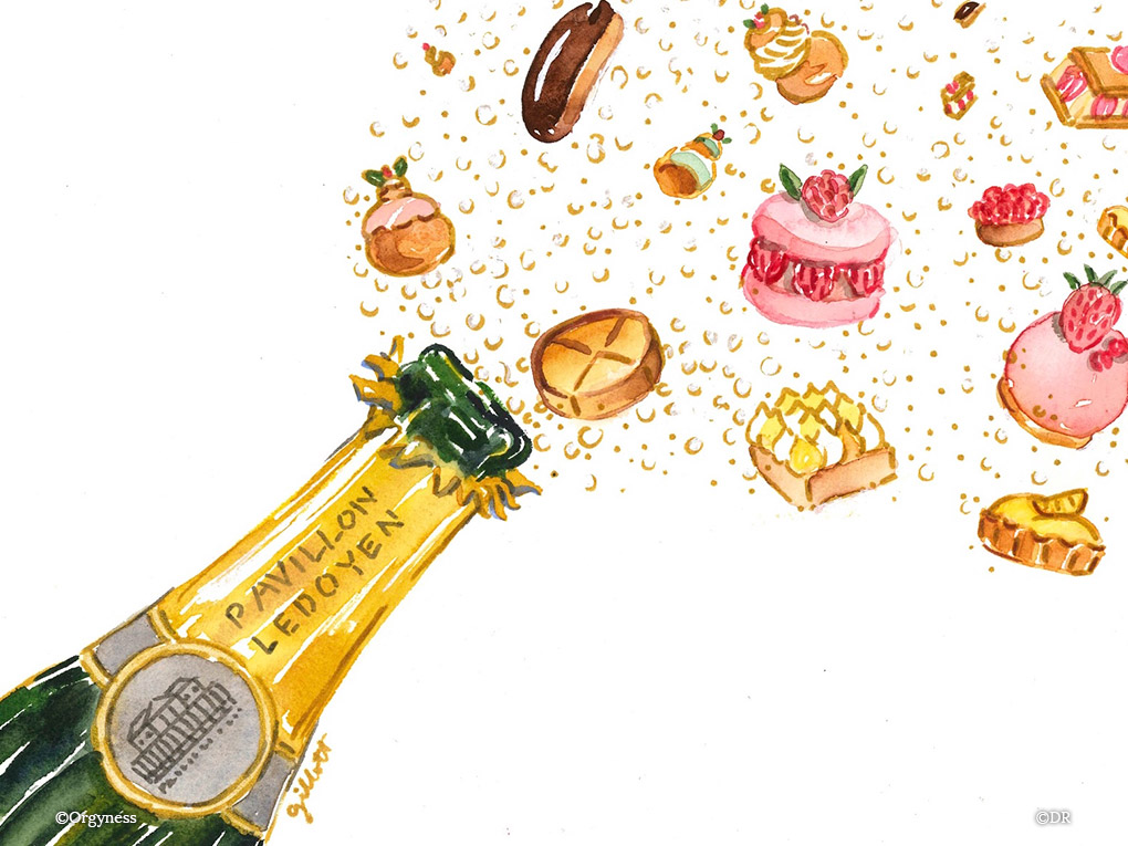 Le 1er salon des Champagnes et Pâtisseries fines