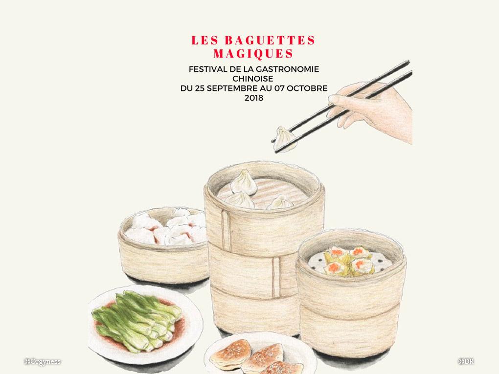 Les Baguettes Magiques, festival de gastronomie chinoise à Lyon
