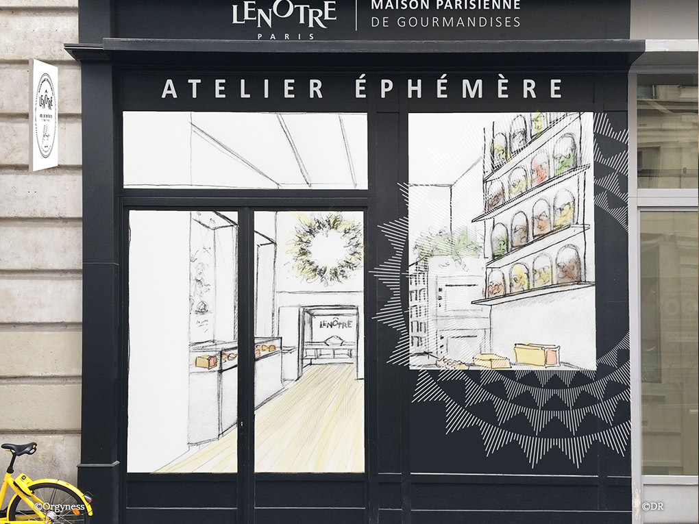 L'Atelier Ephémère Lenôtre