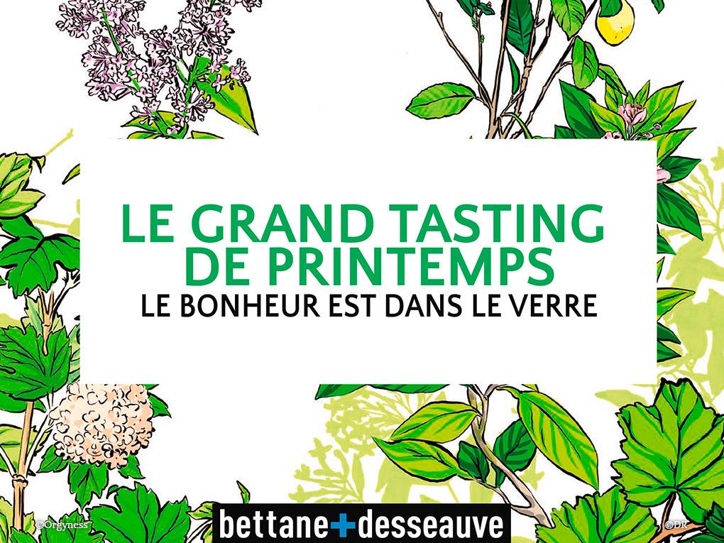 Grand Tasting du Printemps les 24 et 25 mai