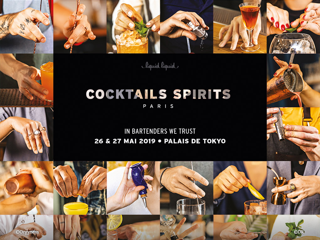 Cocktails Spirits Paris, les 26 et 27 Mai