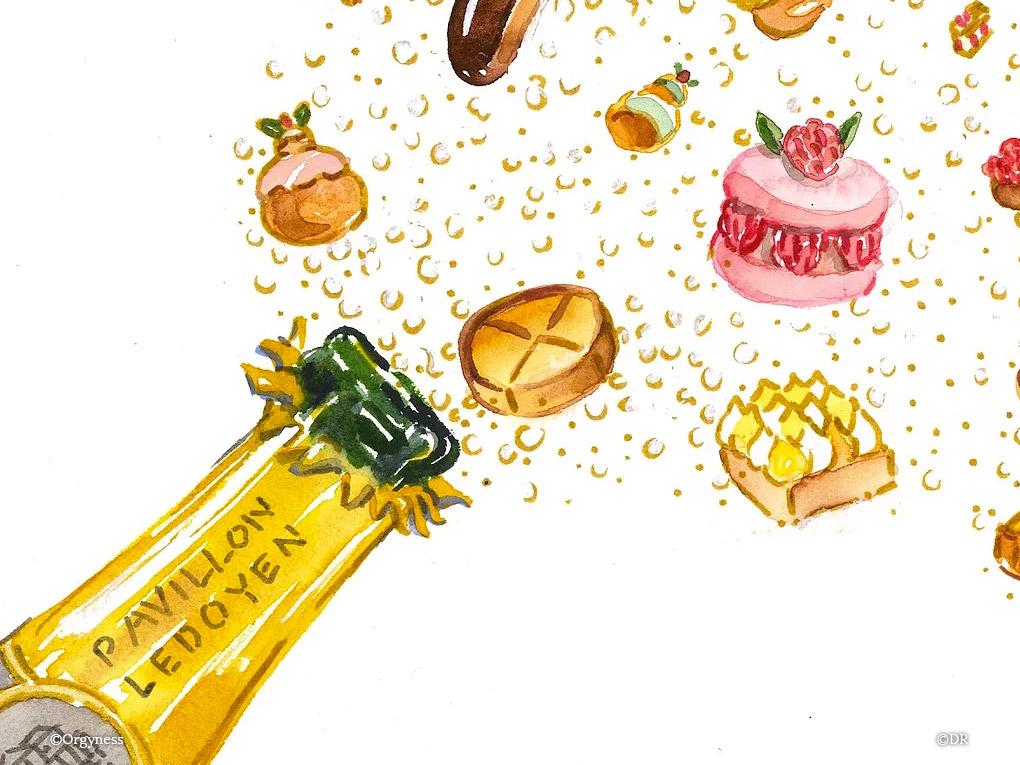 Le Salon des Champagnes & des Pâtisseries Fines, les 7 et 8 juillet